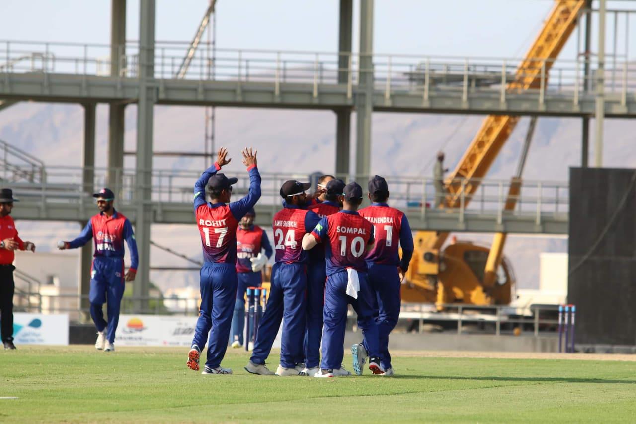 आईसीसी विश्वकप क्रिकेट लिग–२ : ओमानविरुद्ध नेपालको पहिलो जित