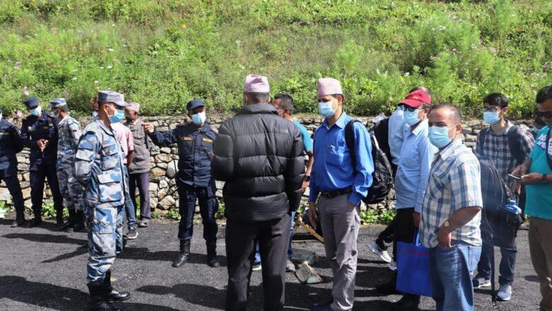 चीनले सीमा मिचेको अध्ययन गर्न टोली हुम्लाको लाप्चा पुग्यो